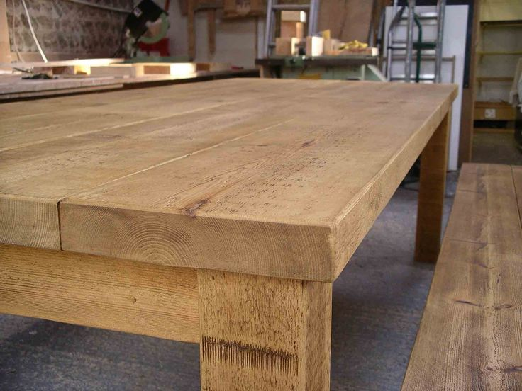 High Quality Rustic Plank Table With Wax Finish | Barn | Pinterest | Plank Table,  Cupboard And Barn