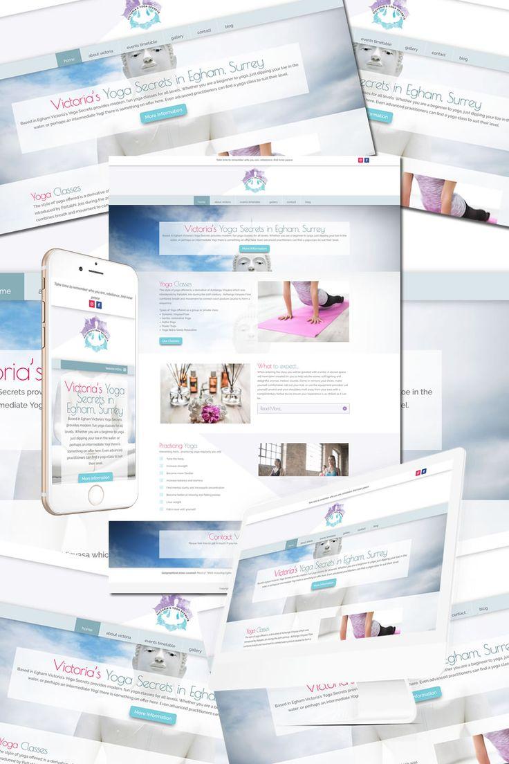 The New Website for Victoria's Yoga Secrets in Egham, Surrey https://hostcat.co.uk/project/victorias-yoga-secrets/