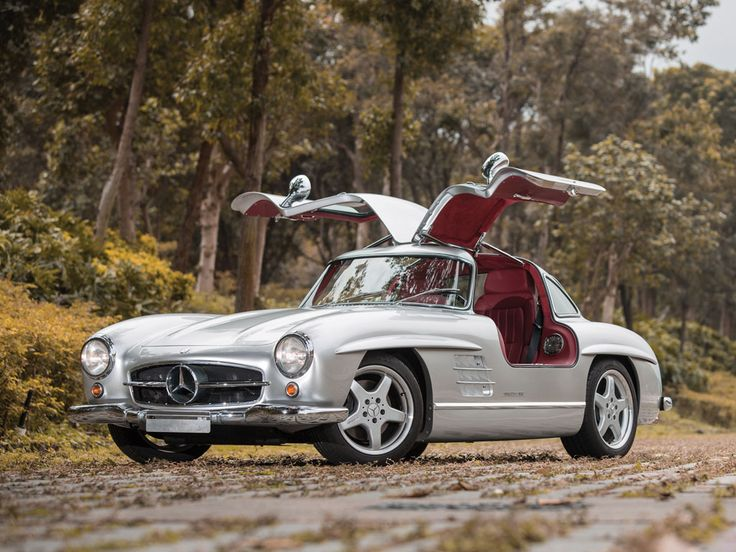 EPIC! AMG took 11 original 300SLs--eight coupes and three roadsters--and did a restomod on them.