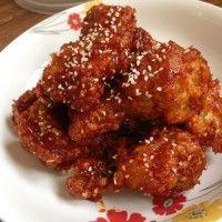**~---->ไก่ทอดเกาหลี (Yangnyeom-tongdak) <---- - Pantip