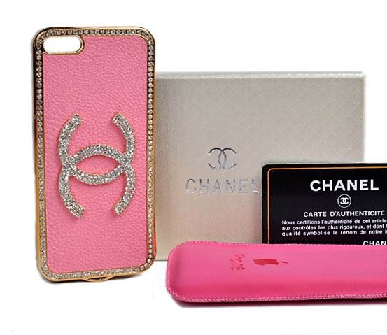 iPhone Accessories - Chanel Camellia iPhone 6 Case - Case Pink - LeatheriPhone6Cases.com