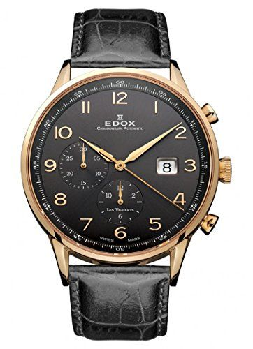 Edox Les Vauberts Chronograph Automatic 91001 37R GBR - http://uhr.haus/edox/edox-les-vauberts-chronograph-automatic-91001-4