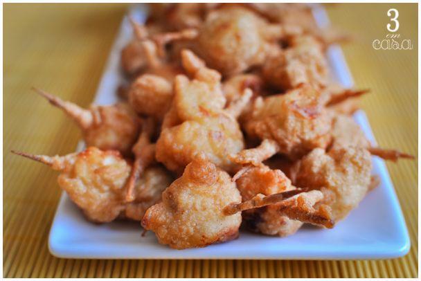 frango empanado receita