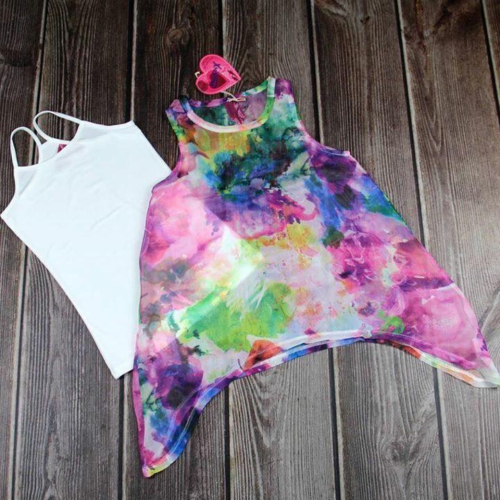 2 in 1 Shirt- Tunika von Million- X ab jetzt im Shop unter www.markenelfe-kindermode.at
