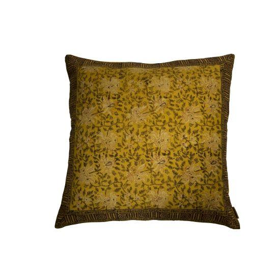 Poduszka z irientalnym wzorem #TwojeMeble #Dodatki #DodatkiDoDomu #Poduszka #INDIAN-BLOCK #Dutchbone