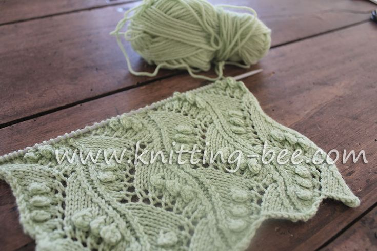 Knitting 3 Stitch Bobble : 17 Best images about Free Knitting Stitches on Pinterest Cable, Stitches an...