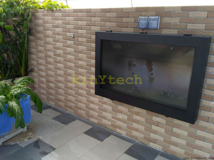 weatherproof TV enclosure From Kinytech China.