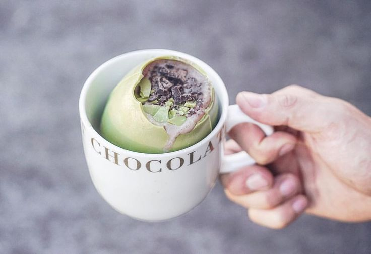 """464 Likes, 27 Comments - Sarah Holloway (@spoonful_of_sarah) on Instagram: """"All the clean eating 🐰😂 Making @matcha_maiden magic for a Good Friday splurge - hot cross bun dark…"""""""