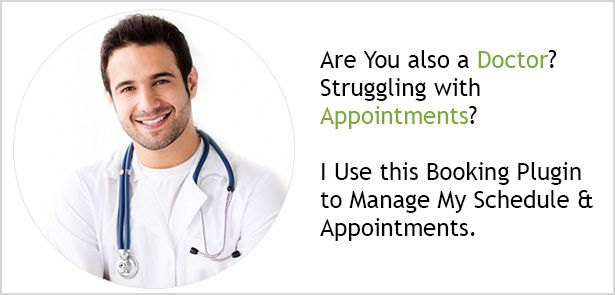 Wordpress Appointment Schedule Booking System Pro is appointment plugin in which your user to book appointment from your web site and it is very good for service like lawyer, artist, photographers, consultants, therapists, and tutor