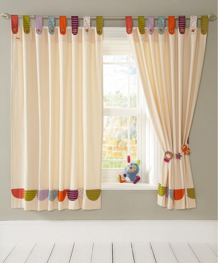 Enchanting Nursery Decorating Ideas With Blackout Curtains For S