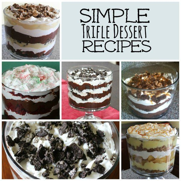 Simple Trifle Recipes