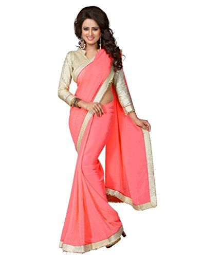 IndiWeaves Dusty pink Georgette Saree, Followed By Designer Un-Stitched Blouse Piece. It Definitely Adds Style To Your Tradition. Brocket Silver Un-Stitched Blouse Piece. It Definitely Adds Style To Your Tradition.It will keep you comfortable all day long. All IndiWeaves Products are handpicked by a team of textiles engineers and fashion enthusiasts and are selected taking into consideration the latest fashions trends and customer likings. This product looks even much better in actual than…