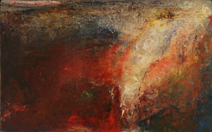 O'Toole, Helen - Search oil on board 17.7 X 11.1 cm