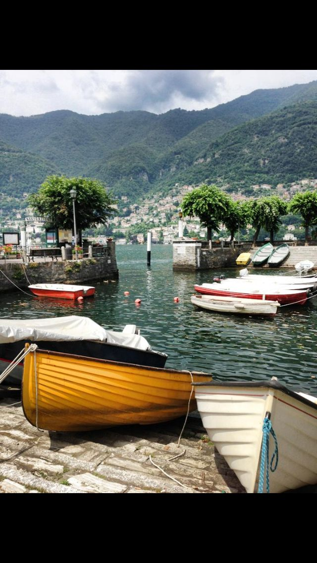 The small towns of Lake Como are so inviting