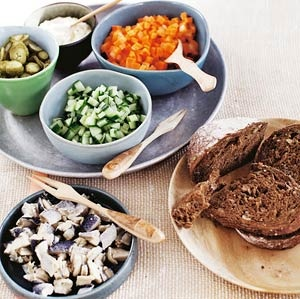 Recept - Komkommersalade augurk en haring - Allerhande