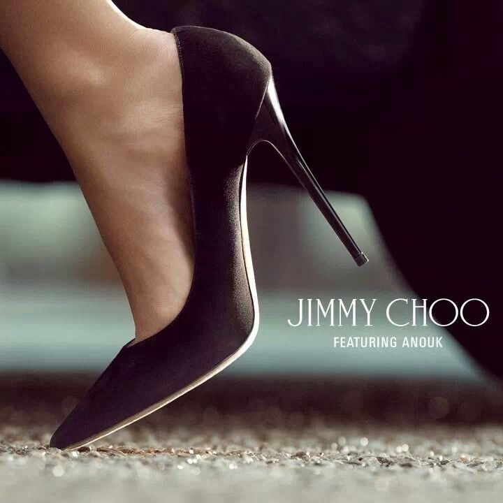Jimmy Choo Channel timeless style with the single-sole pump ANOUK.