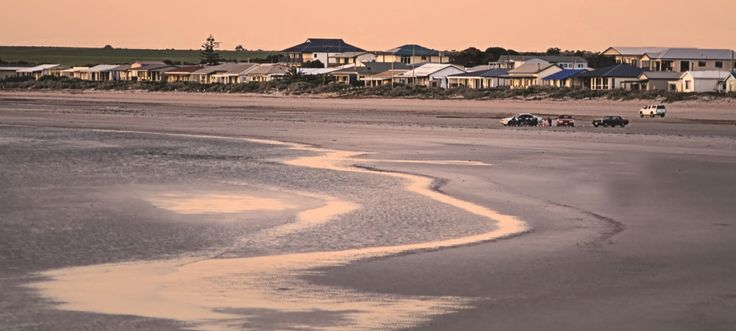Beach for miles. Wallaroo, South Australia