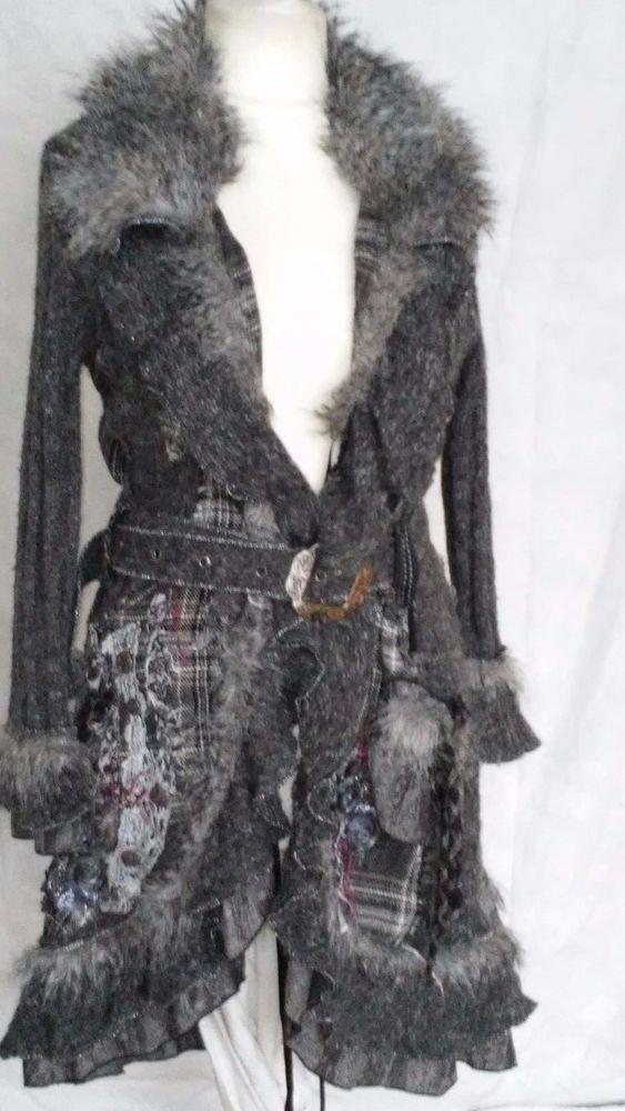 #twitter#tumbrl#instagram#avito#ebay#yandex#facebook #whatsapp#google#fashion#icq#skype#dailymail#avito.ru#nytimes #i_love_ny     PATRICE BREAL  Wool Blend knit coat with a collar size L/XL #PATRICEBREAL #BasicCoat