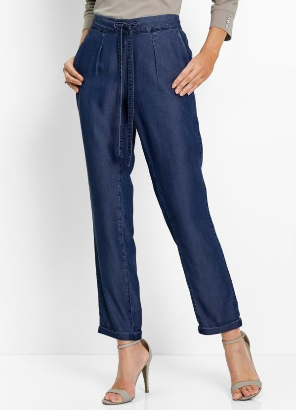 468fc11e6 Calça Jeans Confort Azul - bonprix | Calças e Bermudas