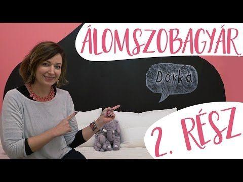 Ilyen lett!!!   Álomszobagyár 2. Rész Dorka szobája   INSPIRÁCIÓK Csorba Anitától - YouTube