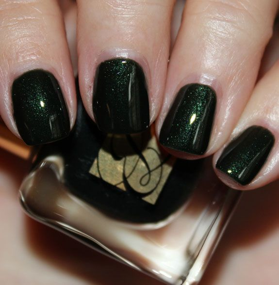 """feeling """"regular"""" manis again but with super rich colors. live for estee lauder viper."""