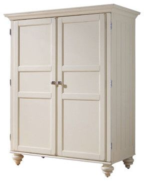 Hammary Camden-Light Home Office Cabinet in Buttermilk traditional-furniture