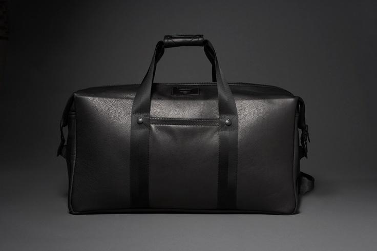 Killspencer Classic: Black Leather: Weekender 2.0 | Luggage ...