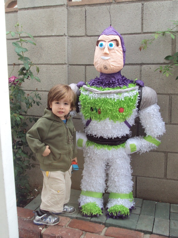 Buzz Ligthyear Pinata by keuceda on Etsy, $50.00