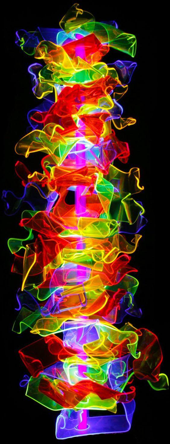 145 best Neon Lights images on Pinterest   Artistic make up, Black ...