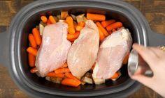 À vos mijoteuses! Cette façon de cuire le poulet vous assure le repas familial par excellence!