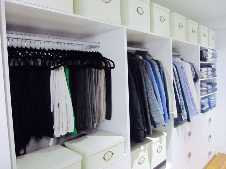 Male closet wardrobe, Organised & Styled by us. #inthecloset_styling #wardrobeorganising  #closetstyling #interiordecoration