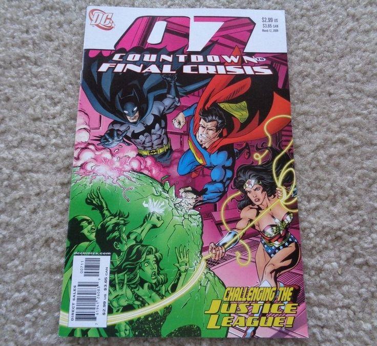 DC Comics Countdown to Final Crisis #7 March 12, 2008