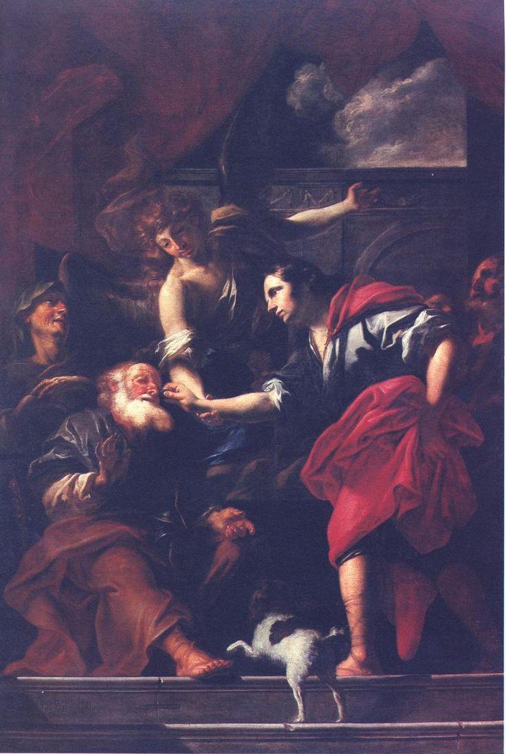 Petr Brandl - Healing of Tobias, 1705