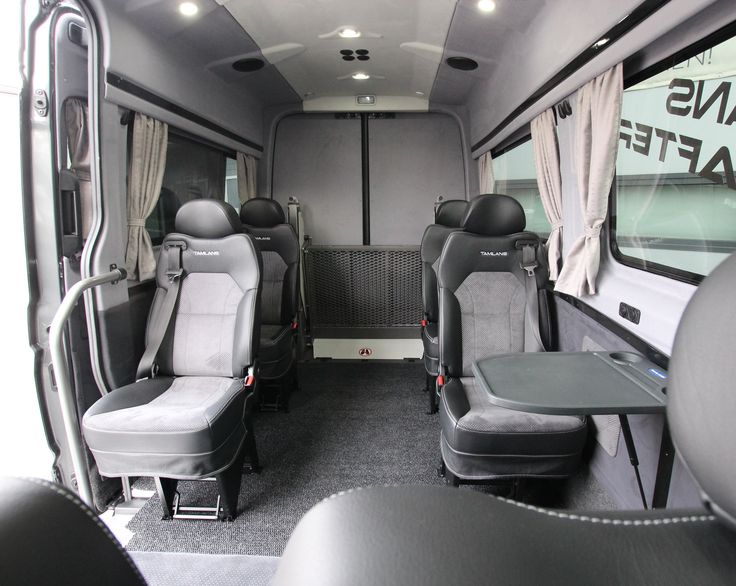 New Volkswagen Crafter Tamlans Disabled Taxi
