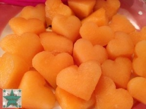 Heart Shaped Fruit with Fun Bites!