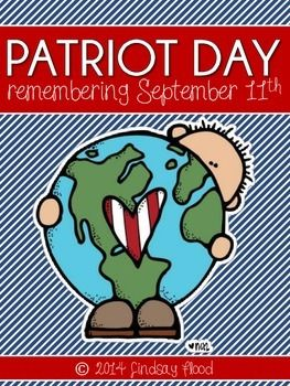 September 11th - Patriots Day Do you need a quick, interactive activity to introduce Patriot Day to your students? This pack is for you.