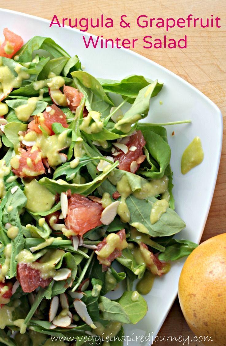 Arugula & Grapefruit Salad Recipe Grapefruit recipes