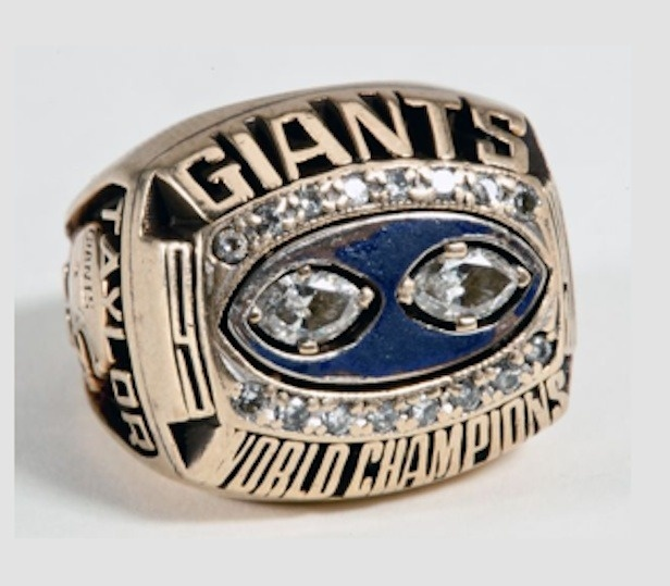 Lawrence Taylor Selling His Super Bowl Ring