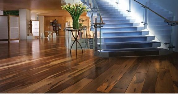 79 best new house wood floors images on pinterest wood for Hardwood floors too shiny