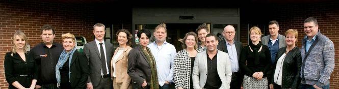 Wim & Tina Zwaart, eigenaren van Restaurant Ratatouille en Koetshuis Hulshorst, zijn genomineerd in de categorie MKB+Detailhandel