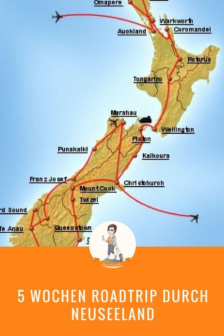 Roadtrip 7: Von Nord nach Süd durch Neuseeland