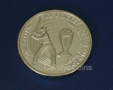 20c Coin ICC Cricket World Cup 2015 Australia New Zealand 20 Cent Money UNC