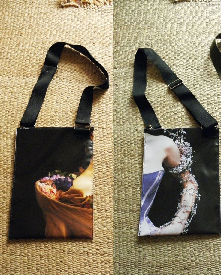 PLASTIC BAG PRINTED WITH TENDER WOMAN'S SHOULDER, TWO SIDES, WATERPROOF