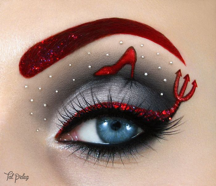 Scarlet Moon maquillage le diable s'habille en Prada