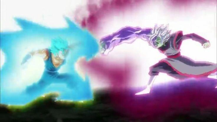 Goku vs Fusion Zamas