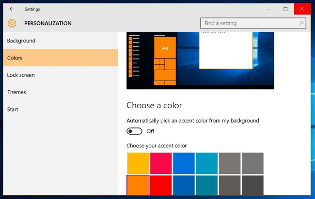 Windows 10 allows you to change the lock screen background, but the login screen background alwaysfeatures the default Windows 10 background. Use these tweaks and you can set any image or color you want as thebackground.