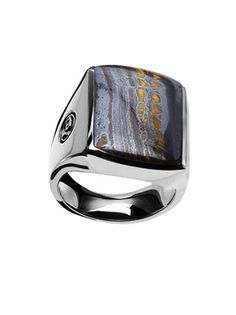 Tiger Iron men's ring by David Yurman