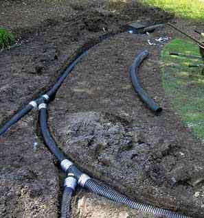Drainage System Sump Pump French Drain Design In