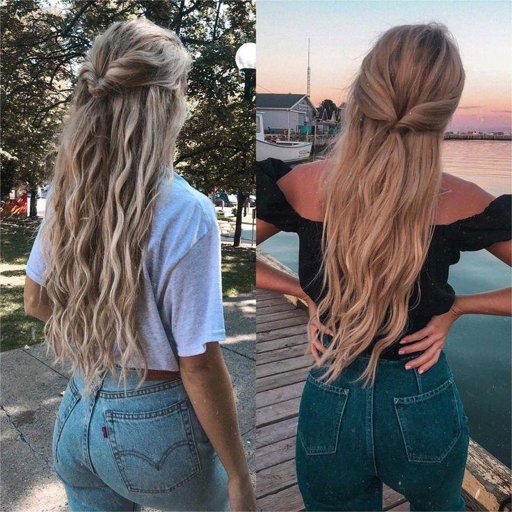 """American Style on Instagram: """"Which outfit would you add to your shopping list? credit @audreyannej #americanstyle #ootd #style #outfit #fashion #shopping 💙💛"""" #braidsforlonghair"""