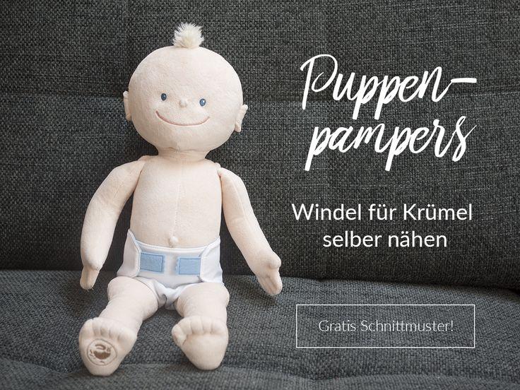 Pampers für Franzi [Windeln für die Krümel-Puppe selber nähen] | Trashury